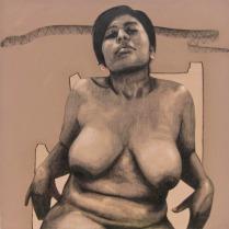 esperando por ti-acrilico-carboncillo:tela-110 x 110cm -2012